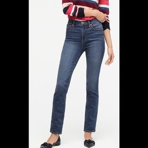 J. Crew Point Sur Hightower straight jean Tall 27